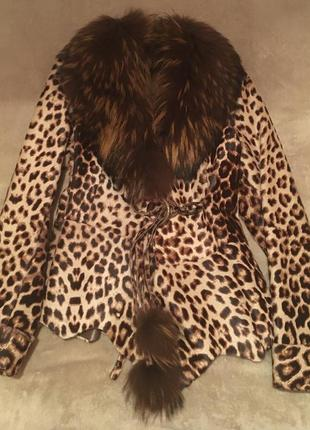 Куртка из натуральной овчины