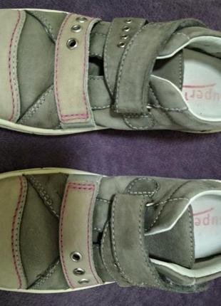 Мокасины туфли кеды кожаные 30р, 20см