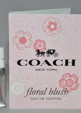 Coach coach floral парфюмированная вода (пробник)