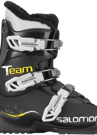 Горнолыжные ботинки salomon team t3 лижні боти