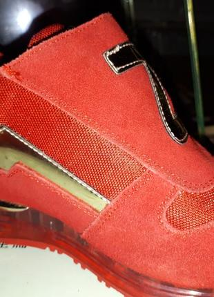 Замшевые кроссовки shabaoli