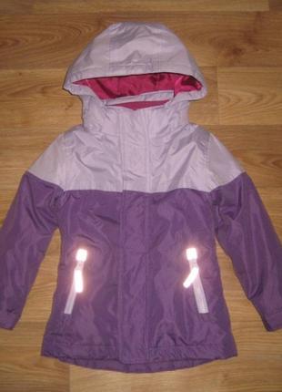 Теплая курточка kids на 4 года