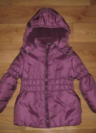 Теплая курточка lupilu на 4 года