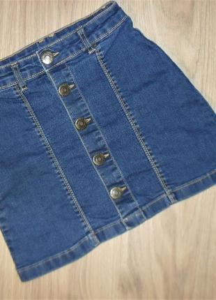 Джинсовая юбка на 9-10лет