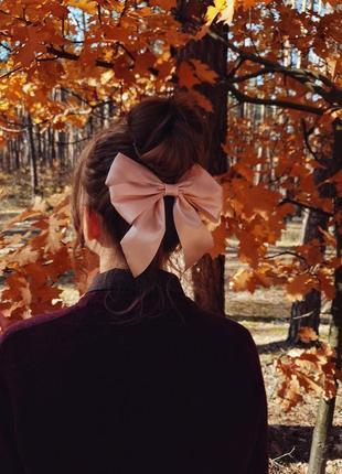 Бант лента для волос