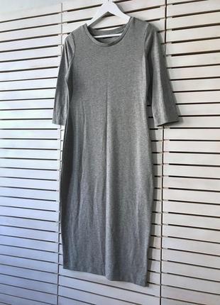 Осеннее базовое платье от m&s uk 12-14