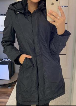 Женская демисезонная удлиненная куртка,пальто,полупальто,см.замеры в описании!