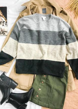 Стильный свитер в осенних тонах  sh1942014  h&m