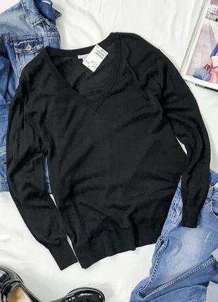 Базовый свитер c v-образным вырезом  sh1942015  h&m