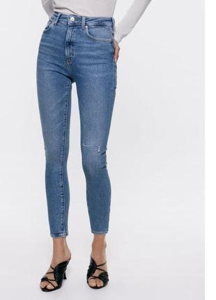 Актуальные джинсы zara