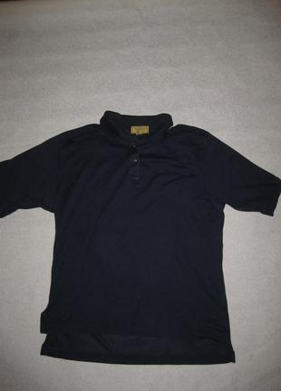 Размер м, футболка поло crosscreek тёмно-синяя