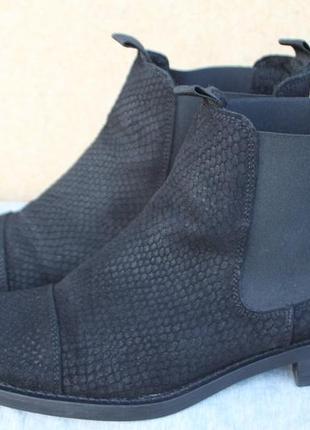 Ботинки noiz замша германия 38.5р челси осеннее утепление
