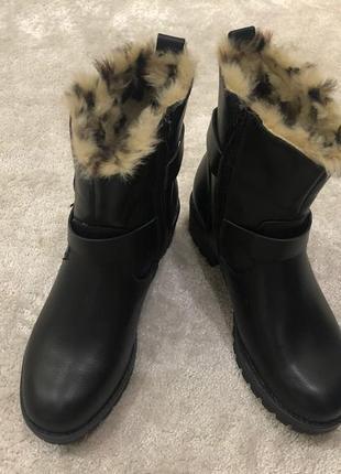 Ботинки женские кожаные сезон зима фирма super me италия