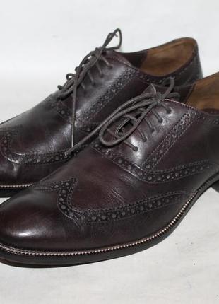 Респектабельные кожаные туфли cole haan 45 размер(11 size)