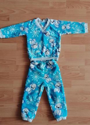 Плюшевая пижама 1.5-2.5 года