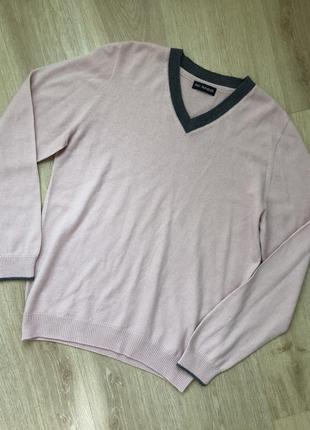 Шикарный джемпер свитер с шерстью