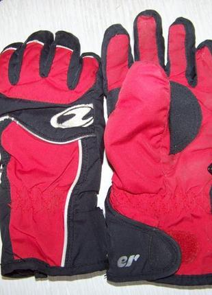 Детские теплющие термо перчатки ziener thermo shield германия