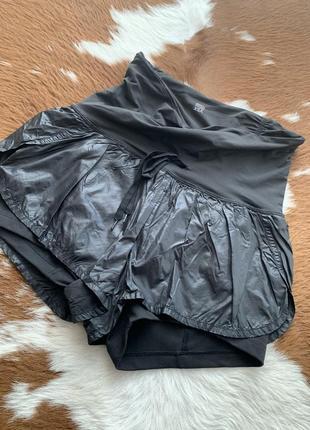 Victoria's secret шорты шикарные спортивные чёрные идеальное состояние  новые s