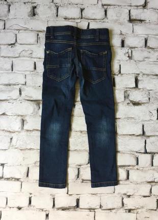 Плотные детские джинсы с контролем пояса