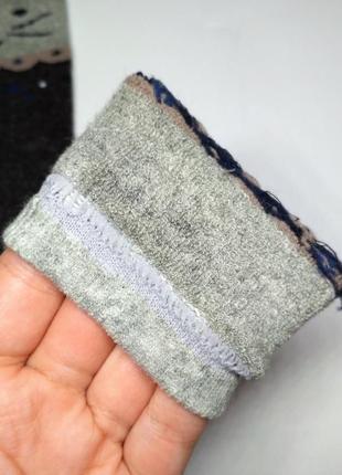 Носки детские, термо махровые, с рисунком кошечка2 фото
