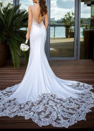 Свадебное платье enzoani. стоило 2500$. коллекция 2019 года.