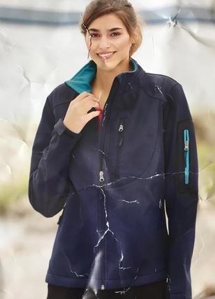 Куртка женская влаготталкивающая ветровка на флисе