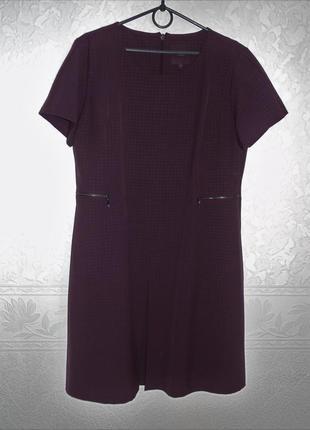 Фирменное стрейчевое платье next 18 размер