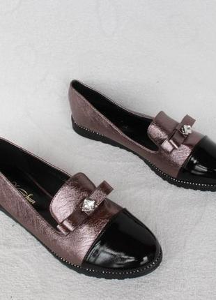 Туфли, лоферы 39, 40 размера на низком ходу