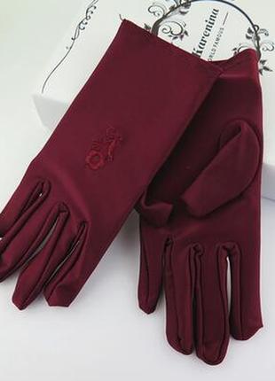 Женские перчатки 78н