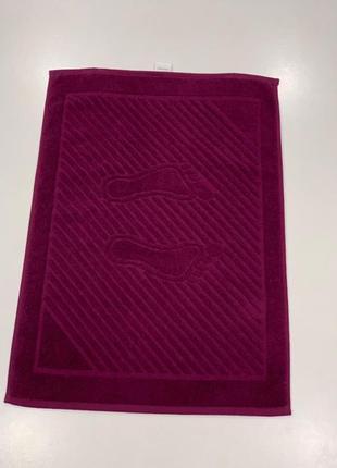 Полотенце для ног   махровое  марсал
