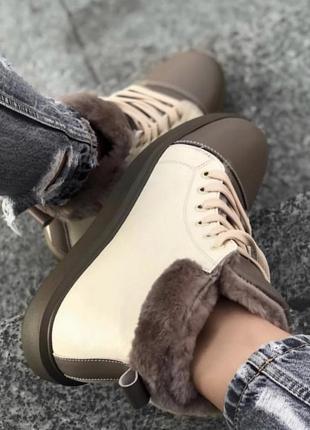 Ботинки, кеды на меху, кеды зимние
