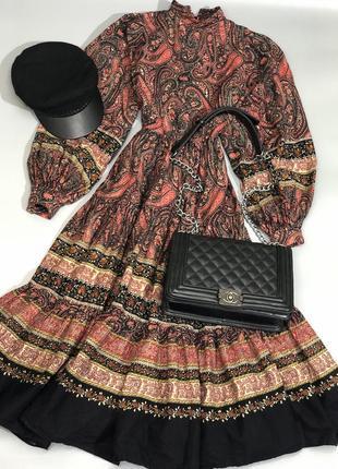 Идеальное платье из плотного хлопка
