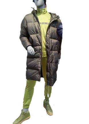 Пуховик куртка парка puma longline men's down jacket-оригинал.