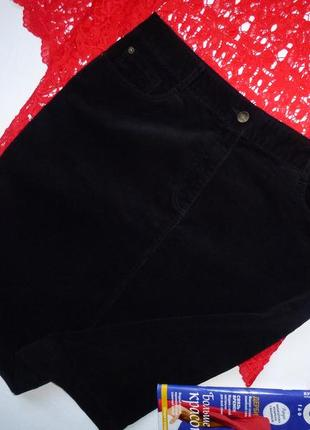 Премиум качество от m&s/вельветовая юбка