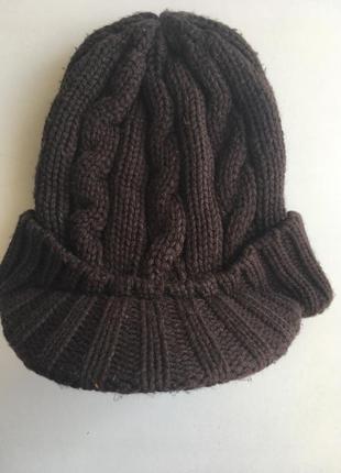 Вязаная шапка от h&m
