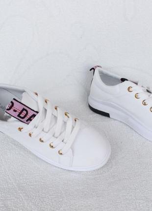 Белые кеды, кроссовки 38, 39 размера