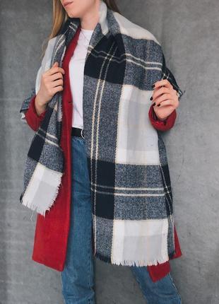 🖤объемный тёплый шарф h&m