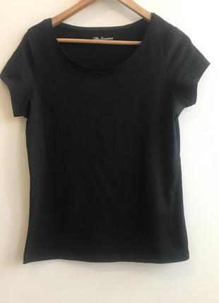 Классическая чёрная футболка george p.14/42 #17