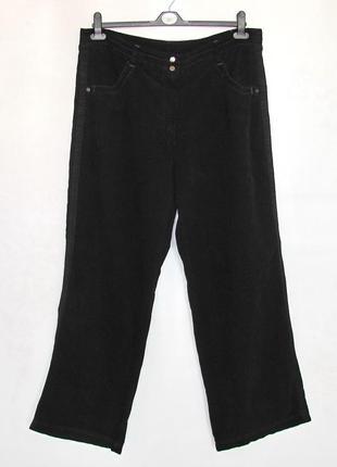 Модные штаны, брюки etam, франция, вельвет. большой размер!