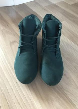 Черевички ботинки сапожки новые р. 37