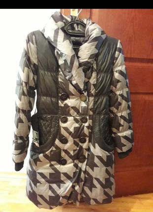 Зимний пуховик пальто