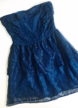 Нежное, кружевное платье от miss selfridge