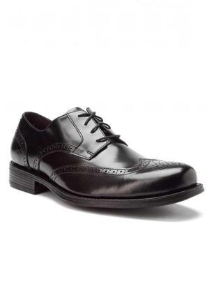 Johnston & murphy ● р43 ● кожаные демисезонные туфли, оксфорды, броги. оригинал из сша.