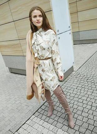 H&m платье с бантом, 38
