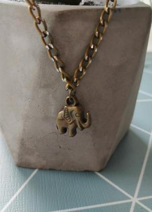 Кулон слон слоник