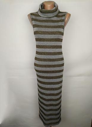 Платье хамут новое стильное в полоску lipsy uk 10/38/s