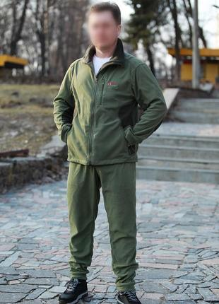 Спортивный костюм мужской флисовый