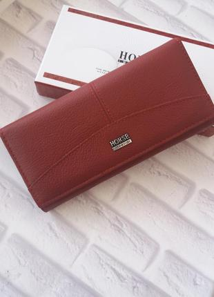 Женский кожаный кошелек. жіночий шкіряний гаманець кошельок