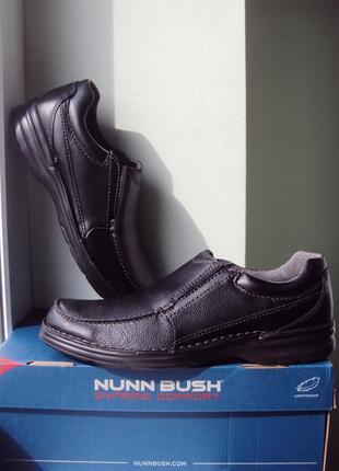 Nunn bush ● р43 ●мужские кожаные туфли, мокасины. оригинал из сша. киев.