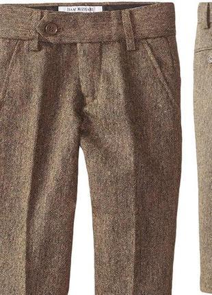 Школьные зимние брюки на термо штаны
